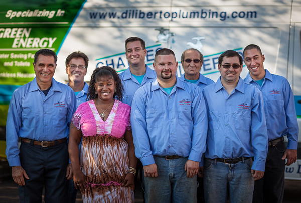 About Diliberto Plumbing and Heating Staff
